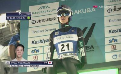 Ryoyu Kobayashi liderem po 1. serii piątkowego konkursu LGP w Hakubie
