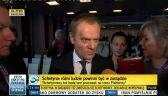 Tusk: Sytuacja w PO została uspokojona