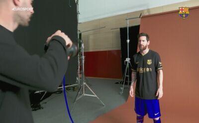 Barcelona zaprezentowała wyjazdowe koszulki na nowy sezon