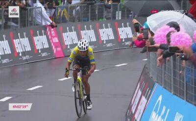 Caicedo wygrywa 3. etap Giro d'Italia, 6. miejsce Rafała Majki
