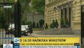 O godz. 16:30 mamy poznać nazwiska nowych ministrów