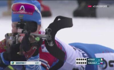 Pierwsze strzelanie biegu pościgowego w Hochfilzen