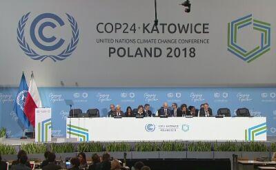 Dokument końcowy szczytu klimatycznego w Katowicach przyjęty