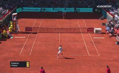 Thiem pokonał Federera w ćwierćfinale turnieju w Madrycie