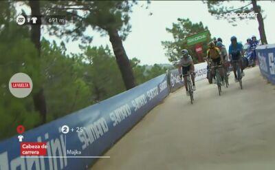 Valverde wygrał 7. etap Vuelty, 5. miejsce Majki