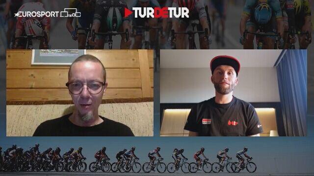 Tomasz Marczyński przed startem Giro d'Italia
