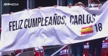 Alcaraz przegrał z Nadalem w urodzinowym meczu w Madrycie