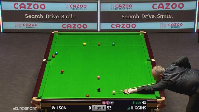 108-punktowy brejk Higginsa w półfinale Players Championship