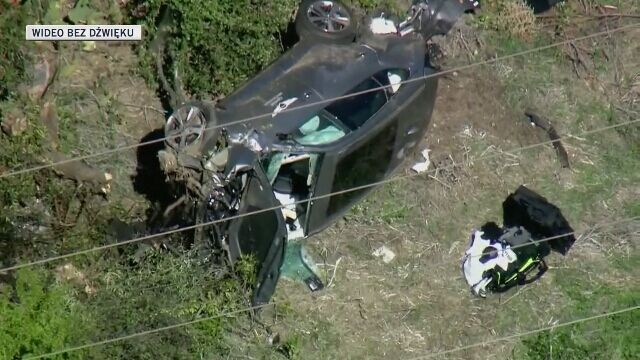 Wypadek samochodowy Tigera Woodsa