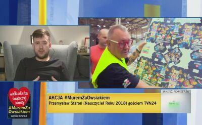 """""""Dajmy czas Owsiakowi"""" - apeluje Nauczyciel Roku 2018"""