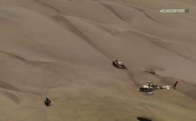 Problemy Przygońskiego, Loeb wygrał 6. etap Rajdu Dakar