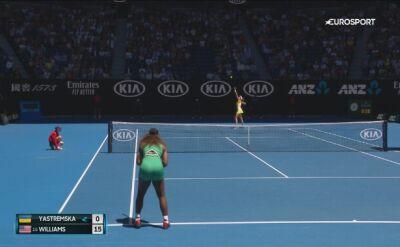 Serena gra dalej. Wystarczyła godzina z hakiem