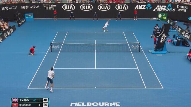 Magiczne dotknięcie Federera
