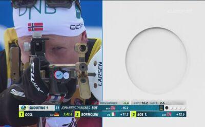 Johannes Thingnes Boe wygrał sprint w Ruhpolding