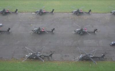 Pokaz siły amerykańskiej kawalerii powietrznej