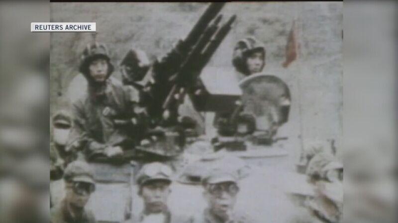 Walki na granicy po uderzeniu Chin na Wietnam