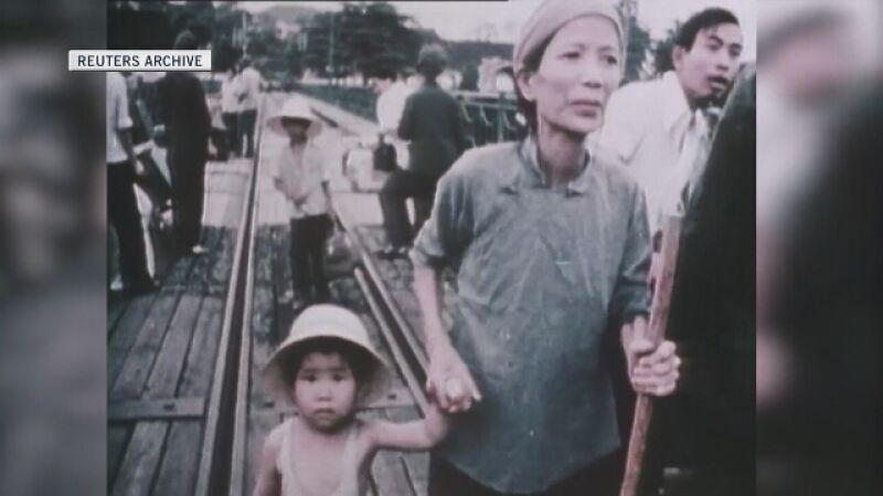 Chińczycy zmuszeni do opuszczenia Wietnamu w 1978 roku