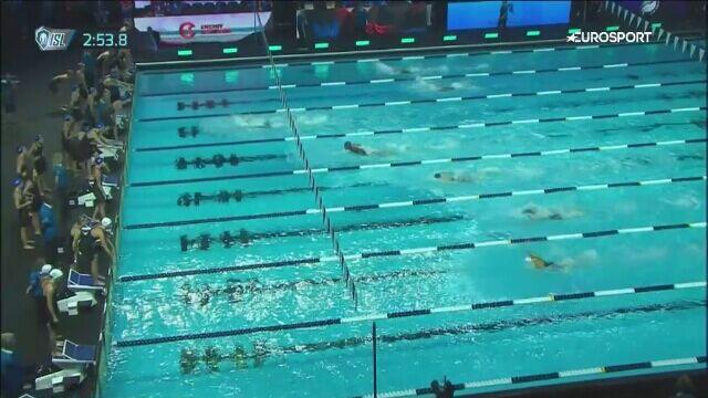 ISL: sztafeta kobiet 4x100 zmiennym