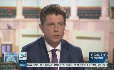 Petru: nie przejmuję się poszczególnymi sondażami, ważny jest trend