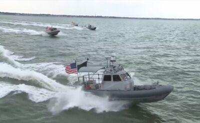 Próba roju dronów US Navy