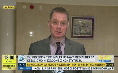 Ostatnia rozprawa z udziałem prezesa Trybunału Konstytucyjnego Andrzeja Rzeplińskiego