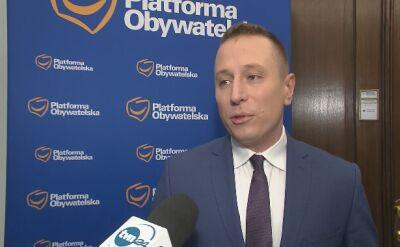 Krzysztof Brejza o sporze prezydenta z ministrem sprawiedliwości