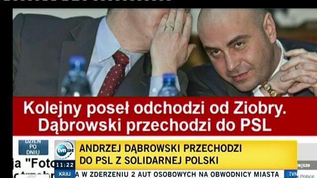 Jacek Kurski ocenił przejście Dąbrowskiego do PSL