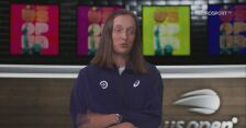 US Open. Rozmowa z Igą Świątek po meczu 1. rundy z Jamie Loeb