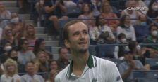 Szczęśliwy punkt Miedwiediewa w meczu z Koepferem na US Open
