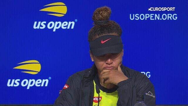 Osaka we łzach po porażce na US Open
