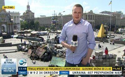 Relacja reportera TVN24 z Kijowa