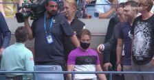 Dylan Alcott celebrował Złotego Szlema podczas meczu Djokovicia z Miedwiediewem