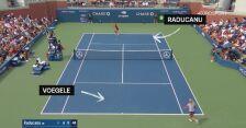 10 najlepszych zagrań podczas US Open