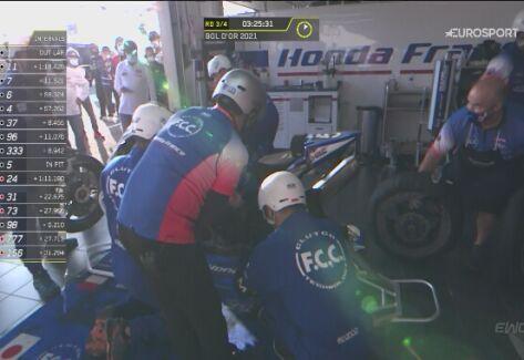 Groźny wypadek podczas 24h wyścigu Bol d'Or