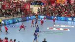 Najlepsze zagrania z meczu Dinamo Bukareszt - Łomża Vive Kielce w 1. kolejce Ligi Mistrzów