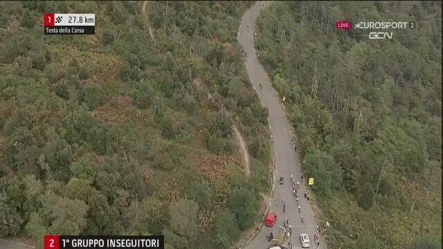 Atak Rafała Majki na Giro della Toscana
