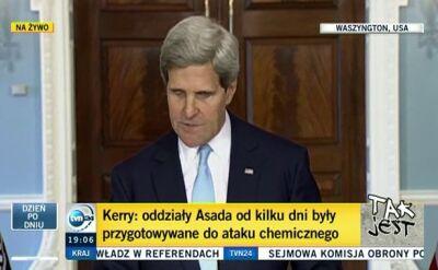 Kerry: Musi być odpowiedź