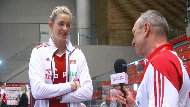 Magdalena Stysiak zagrała bardzo dobrze