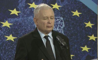 Kaczyński: w ostatecznym rozrachunku zawsze rozstrzygają wartości