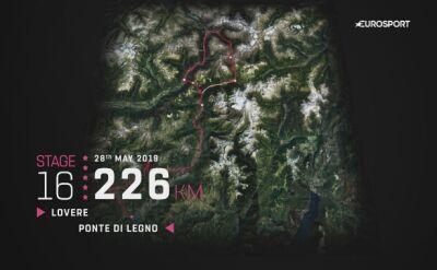 Prezentacja 16. etapu Giro