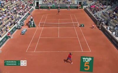 Najlepsze zagrania pierwszego dnia Rolanda Garrosa
