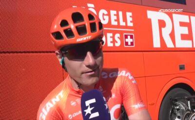 Owsian po 11. etapie Giro d'Italia