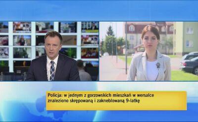 Zakneblowana dziewczynka znaleziona w Gorzowie. Zatrzymany 24-latek