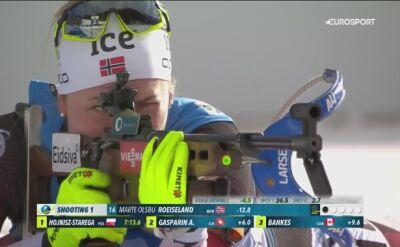 Marte Olbu Roeiseland mistrzynią świata w sprincie