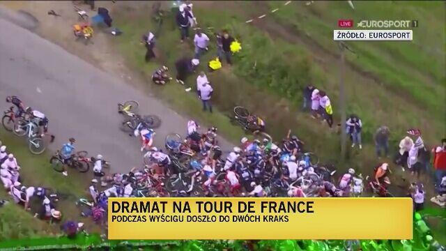 Tomasz Jaroński o kraksie na 1. etapie Tour de France