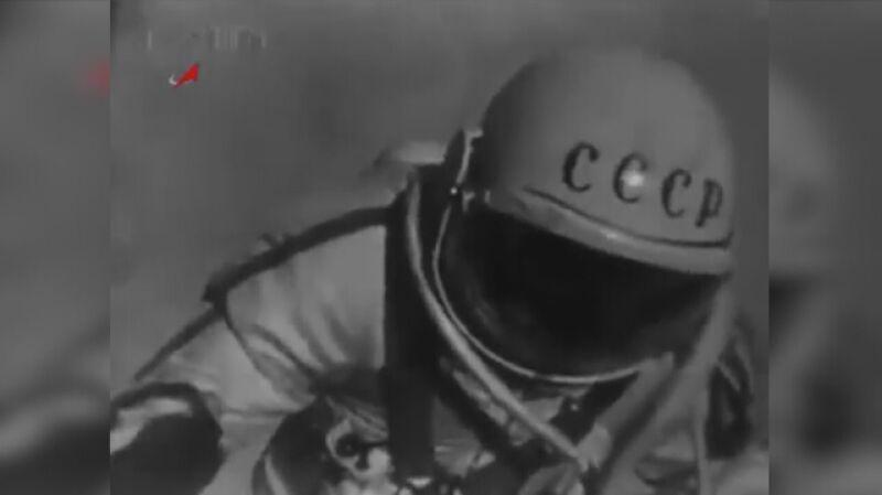 Oficjalna sylwetka Aleksieja Leonowa (fragment materiału)