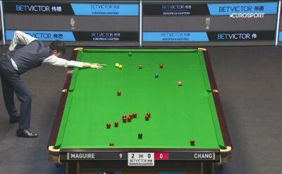 Dobre zagranie Bingyu Changa podczas meczu European Masters