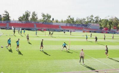 Atletico Madryt trenowało przed meczem z Granadą