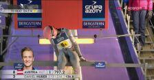 Znakomity skok Daniela Hubera z konkursu drużynowego w Wiśle