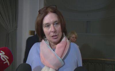 Kidawa-Błońska: te propozycje budzą grozę